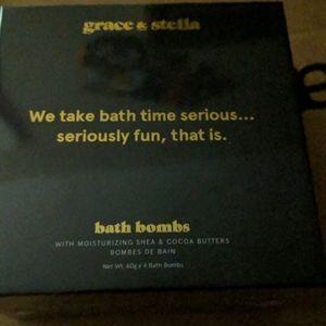 fabfitfun Grace & Stella bath bombs